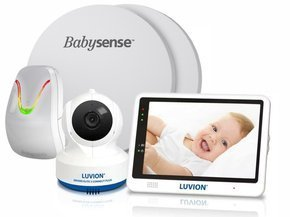 LUVION® GRAND ELITE 3 CONNECT PLUS - elektroniczna niania z kamerą i monitorem oddechu BABYSENSE 7